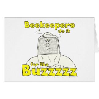 Beekeepers gör det för Buzzzzzen - kort