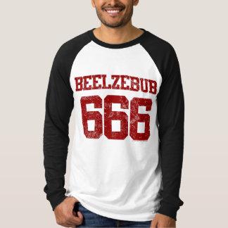 Beelzebub 666 tee shirt