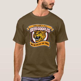 Beergoggles inte på denna tiger t-shirts