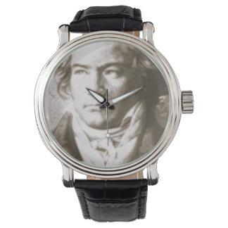 Beethoven i Sepia Armbandsur