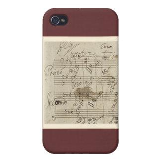 Beethovenmanuskript iPhone 4 Skal