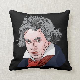 Beethovenporträttillustration Kudde