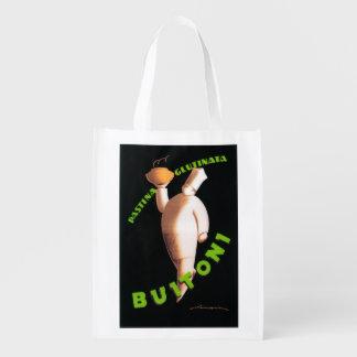 Befordrings- affisch för Buitoni pasta Återanvändbar Påse