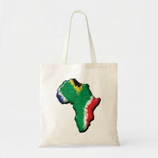 Befordrings- Sydafrika RSA afrikansk flagga Budget Tygkasse