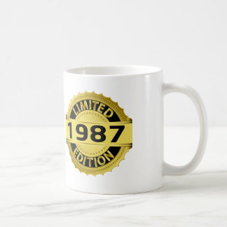 Begränsad upplaga 1987 kaffemugg