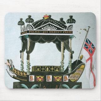 Begravningen av Lord Nelson på 9th Januari 1806 Mus Mattor