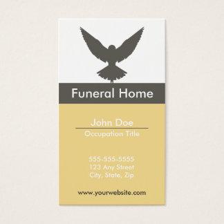 Begravningsbyråvisitkort Visitkort
