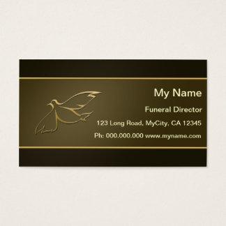 Begravningsentreprenör Visitkort