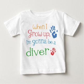 Begynna babyT-tröja för dykare (framtid) Tshirts