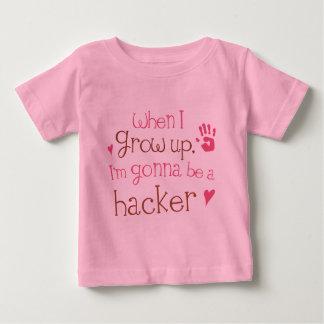 Begynna babyT-tröja för Hacker (framtid) Tee Shirts