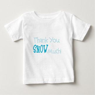 Begynna T-tröja för tacksnö mycket T-shirt