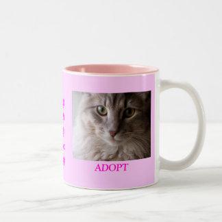 Behaga adopterar Två-Tonad mugg