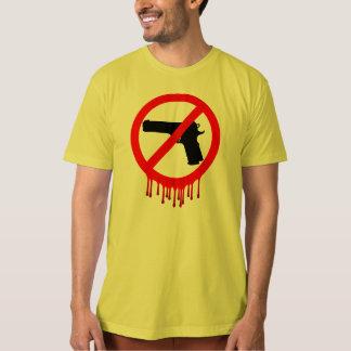 behaga använder inte vapen tee shirts