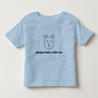 Behaga björnen med mig - ungar t-shirts