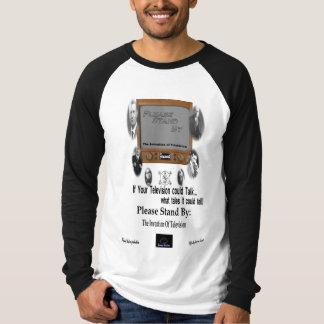Behaga stativ vid T-tröja T Shirts