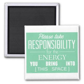 Behaga tar ansvar för energin