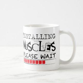 Behaga väntan [Grungeversionen,] installera Kaffemugg