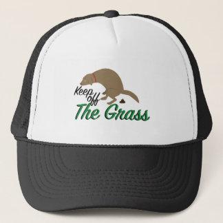 Behålla av gräs keps