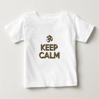 Behålla lugna OM Tee Shirt