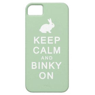 Behållalugn & Binky på iPhone 5 Case-Mate Fodraler