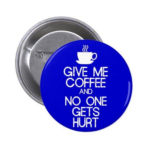 Behållalugn - ge mig kaffe knapp
