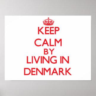 Behållalugn genom att bo i Danmark