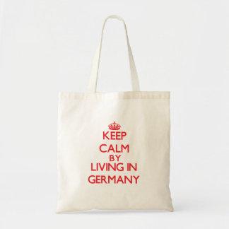Behållalugn, genom att bo i Tyskland Budget Tygkasse