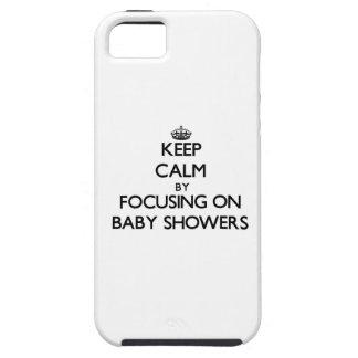 Behållalugn, genom att fokusera på baby shower iPhone 5 Case-Mate skydd