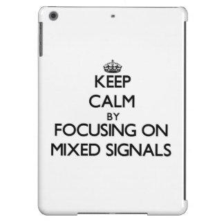 Behållalugn, genom att fokusera på blandat, signal