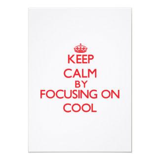 Behållalugn, genom att fokusera på coola tillkännagivanden