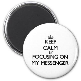Behållalugn genom att fokusera på min budbärare
