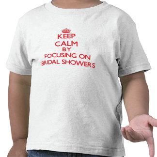 Behållalugn, genom att fokusera på möhippor t shirts
