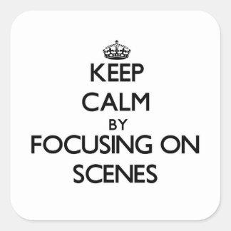 Behållalugn, genom att fokusera på platser