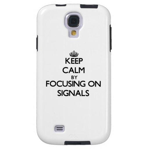 Behållalugn, genom att fokusera på Signals