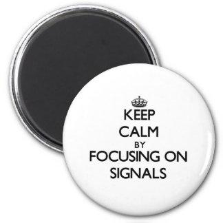 Behållalugn genom att fokusera på Signals