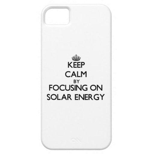 Behållalugn, genom att fokusera på sol- energi iPhone 5 Case-Mate skydd