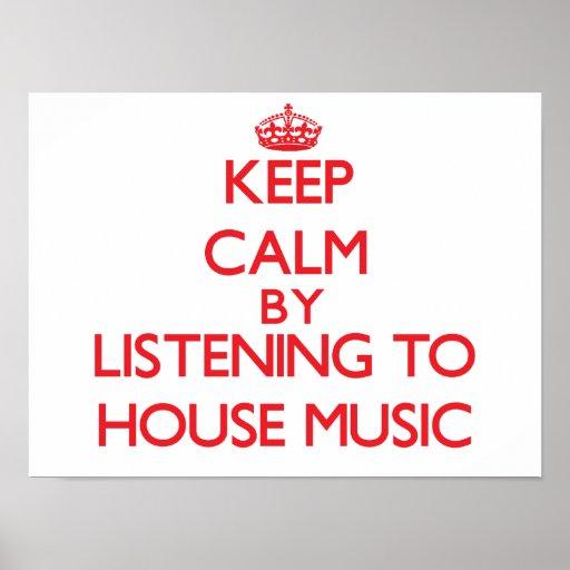 Behållalugn, genom att lyssna till HUSMUSIK