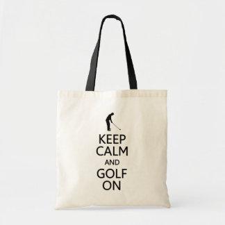 Behållalugn & Golf hänger lös på - välj stil, färg Tygkasse