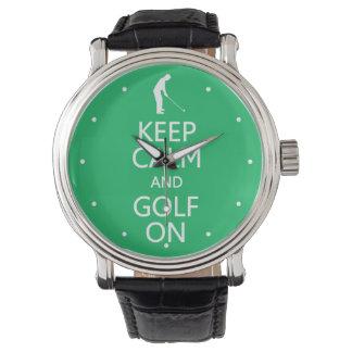 Behållalugn & Golf på beställnings- klockor