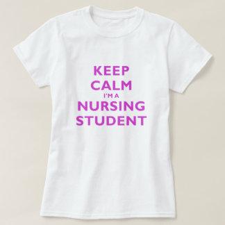 Behållalugn Im en sjukvårdstudent Tee Shirts