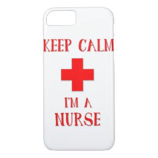 Behållalugn mig förmiddag en sjuksköterska