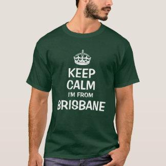 Behållalugn mig förmiddag från Brisbane Tshirts