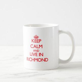 Behållalugn och bor i Richmond Kaffemugg