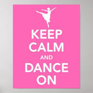Behållalugn och dans på tryck