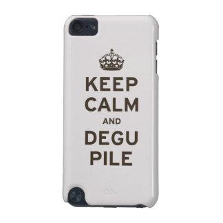 Behållalugn och Degu hög iPod Touch 5G Fodral