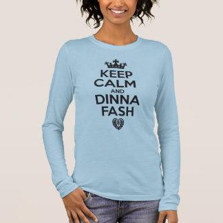 Behållalugn och Dinna Fash T Shirts