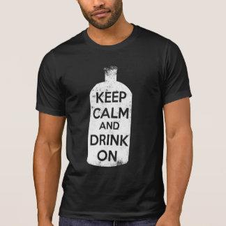 Behållalugn och drink på tröjor