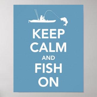 Behållalugn och fisk på poster