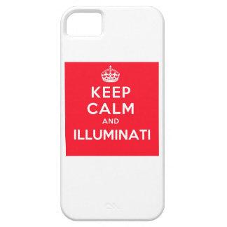 Behållalugn- och Illuminati iphone case iPhone 5 Cover