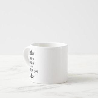 Behållalugn och jubel på espressomugg